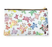 Day Glow Turtle Studio Pouch