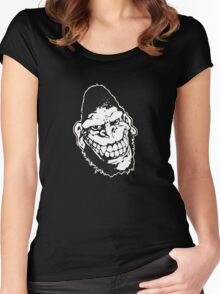 Gorilla Biscuits Women's Fitted Scoop T-Shirt