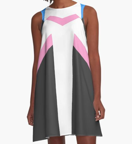 Paladin Armor - Pink A-Line Dress