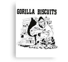 Gorilla Biscuits Canvas Print