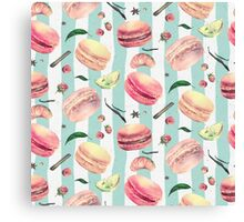 Sweet Tooth pattern Canvas Print