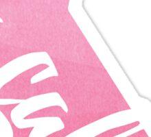 California - Pink Watercolor Sticker