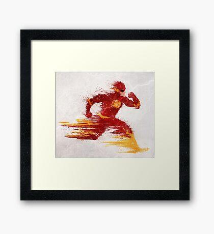 Speed v.2 Framed Print