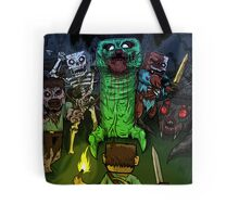 Minecraft Monsters Tote Bag