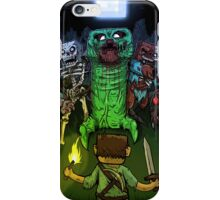 Minecraft Monsters iPhone Case/Skin