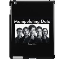 Silicon Valley: Manipulating Data iPad Case/Skin