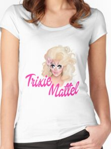 Trixie Mattel- Barbie Women's Fitted Scoop T-Shirt