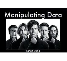 Silicon Valley: Manipulating Data Photographic Print