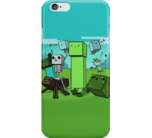Minecraft Cartoon iPhone Case/Skin