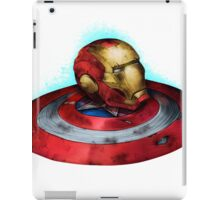 HELMET AND SHIELD iPad Case/Skin