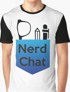 Nerd Chat Podcast Logo (Gradient) Graphic T-Shirt