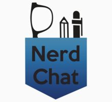 Nerd Chat Podcast Logo (Gradient) One Piece - Long Sleeve