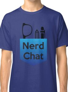 Nerd Chat Podcast Logo (Gradient) Classic T-Shirt