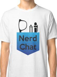 Nerd Chat Podcast Logo (Gradient) Classic T-Shirt