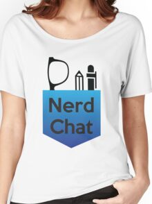 Nerd Chat Podcast Logo (Gradient) Women's Relaxed Fit T-Shirt