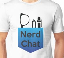 Nerd Chat Podcast Logo (Gradient) Unisex T-Shirt
