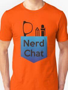 Nerd Chat Podcast Logo (Gradient) Unisex T-Shirt