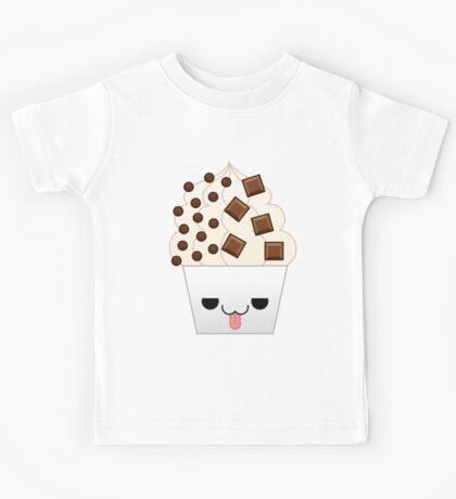 kawaii chocolate frozen yogurt Kids Tee