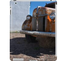 Old Vehicle VII  BW - Ford Truck Color iPad Case/Skin