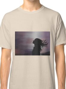 Silhouette of a girl! Classic T-Shirt