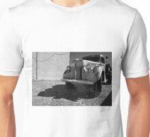Old Vehicle VII  BW - Ford Truck Unisex T-Shirt