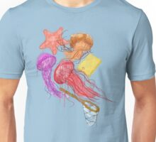 Realism on Jellyfish Fields Unisex T-Shirt
