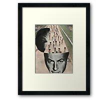 Racing mind  Framed Print