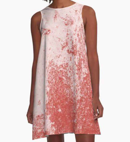 Earth Sweat Design (Aurora Red Color) A-Line Dress