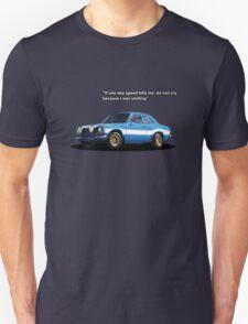 Blue Mexico Tribute Unisex T-Shirt