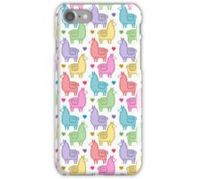 Llama Love iPhone Case/Skin