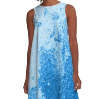 Earth Sweat Design (Snorkel Blue Color) A-Line Dress