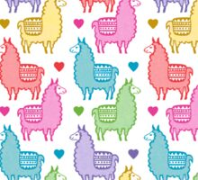 Llama Love Sticker