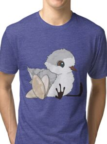 Piper - Baby Sandpiper with Shells Tri-blend T-Shirt