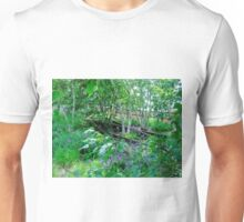 Trees and Track, Horizontal Unisex T-Shirt