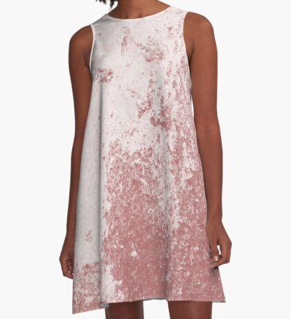 Earth Sweat Design (Dusty Cedar Color) A-Line Dress