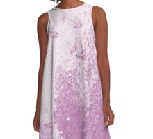 Earth Sweat Design (Bodacious Color) A-Line Dress