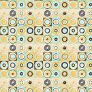 Retro Circles by T-ShirtsGifts