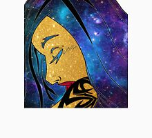Sleeping space girl Unisex T-Shirt