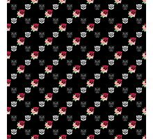 Autobot floral repeat pattern  Photographic Print
