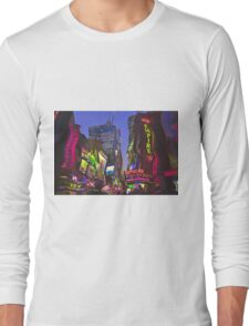 Melting in Times Square Long Sleeve T-Shirt