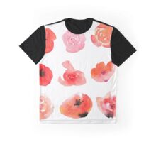 Flowers watercolor illustration Graphic T-Shirt