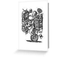 Combination Gizmo Machine Greeting Card