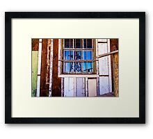 Old Building in Tombstone Framed Print