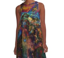 Iridescence A-Line Dress