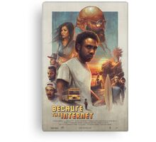 Childish Gambino Movie Poster Canvas Print