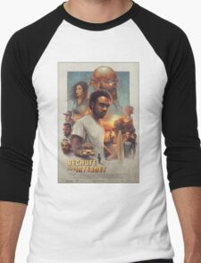 Childish Gambino Movie Poster Men's Baseball ¾ T-Shirt