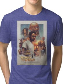Childish Gambino Movie Poster Tri-blend T-Shirt