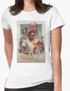 Childish Gambino Movie Poster Womens Fitted T-Shirt