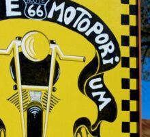 Route 66 Motorporium Sticker