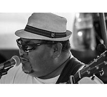 Blues Man Photographic Print